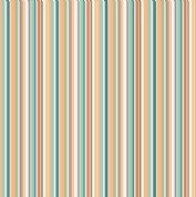 Jungle Friends - 7048 - Pastel Stripes on Cream Background  - 2203_P - Cotton Fabric